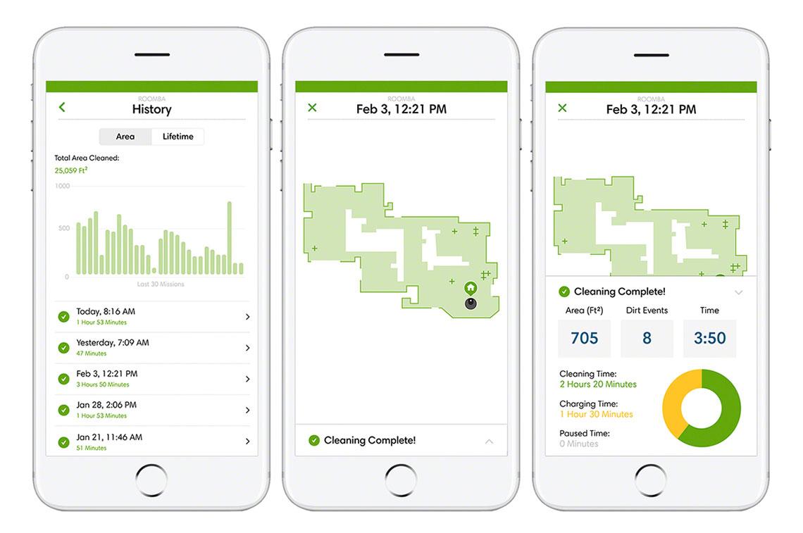 Обновлено приложение iRobot Home Application